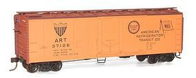Accurail 40' Steel Reefer Kit American Refrigerator Transit HO Scale Model Train Freight Car #8510