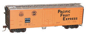 Accurail 40 Steel Reefer Plug Doors Kit Pacific Fruit Express HO Scale Model Train Freight Car #85154
