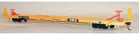 Accurail 89 Trailer on Flatcar 3-Pack Kit RTTX HO Scale Model Train Freight Car #8952