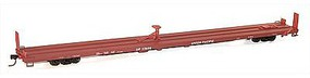 Accurail 89' TOFC Intermodal Flatcar 3-Pack Kit Union Pacific HO Scale Model Train Freight Car #8957