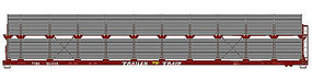Accurail 89 Bi-Level Partially-Enclosed Auto Rack Data Only HO Scale Model Train Freight Car #9498