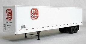 Accurail 45' Highway Trailer Kansas City Southern HO-Scale