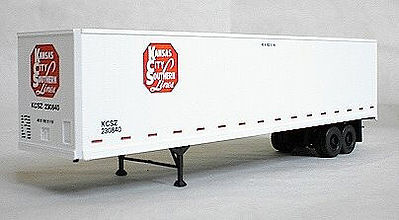 Accurail 45' Brae Highway Trailer Redo KCS -- HO Scale Model Railroad Vehicle -- #9914