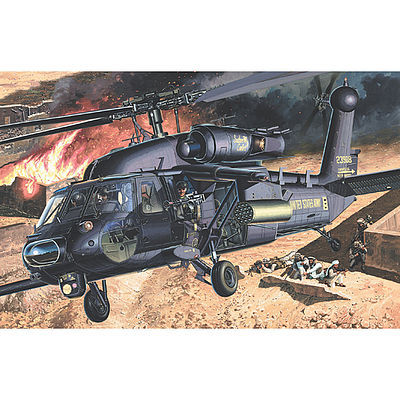 Academy AH-60L Blackhawk DAP Plastic Model Helicopter Kit 1/35 Scale #12115