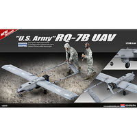 RQ-7B UAV US Army Plastic Model Airplane Kit 1/35 Scale #12117