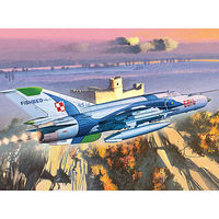 MIG-21MF Polish Air Force Plastic Model Airplane Kit 1/48 Scale #12224
