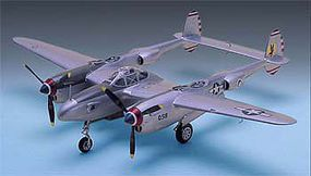 Academy P38E/J/L Lightning Aircraft Plastic Model Airplane Kit 1/48 Scale #12282