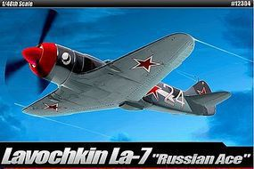 Academy La-7 Russian Ace Limited Edition Plastic Model Airplane Kit 1/48 Scale #12304