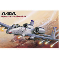 Academy A-10A Plane Operation Iraqi Freedom Plastic Model Airplane Kit 1/72 Scale #12402