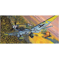 Academy JU87G-2 Stuka Kanonen Vogel Plastic Model Airplane Kit 1/72 Scale #12404