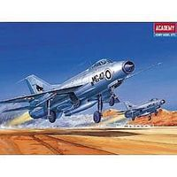 Academy Mig21 Fishbed Fighter Plastic Model Airplane Kit 1/72 Scale #12442