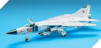 Academy Plastics Mig23S Flogger B Fighter -- Plastic Model Airplane Kit -- 1/72 Scale -- #12445