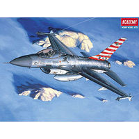 Academy P40M/N Warhawk Fighter Plastic Model Airplane Kit 1/72 Scale #12465