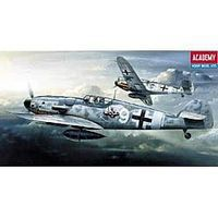Academy Bf109G6 Fighter Plastic Model Airplane Kit 1/72 Scale #12467