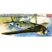 Academy Fw190A6/8 Butcher Fighter Plastic Model Airplane Kit 1/72 Scale #12480