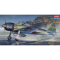 Academy Mitsubishi A6M5C Zero Plastic Model Airplane Kit 1/72 Scale #12493