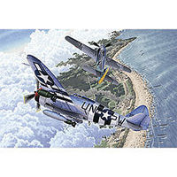 Academy P-47D/FW190A-8 70th Anniversary Normandy Plastic Model Airplane Kit 1/72 Scale #12513