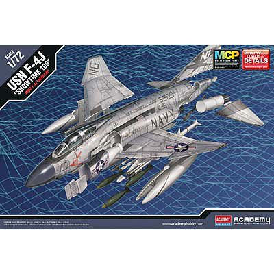 Academy Plastics F-4J Showtime 100 -- Plastic Model Airplane Kit -- 1/72 Scale -- #12515