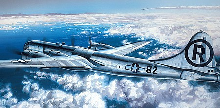 Academy Plastics B29A Enola Gay/Bockscar Aircraft -- Plastic Model Airplane Kit -- 1/72 Scale -- #12528