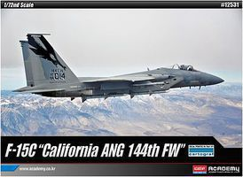 Academy F-15C California ANG 144th FW Ltd. Ed. Plastic Model Airplane Kit 1/72 Scale #12531