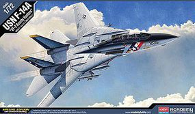 F-14A VF-2 Bounty Hunters Plastic Model Airplane Kit 1/72 Scale #12532