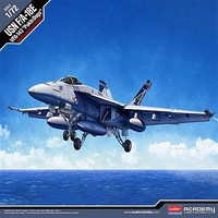 Academy F/A18E VFA143 Pukin Dogs USN Fighter Plastic Model Airplane Kit 1/72 Scale #12547