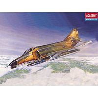 Academy F4E Phantom II Fighter Plastic Model Airplane Kit 1/144 Scale #12605