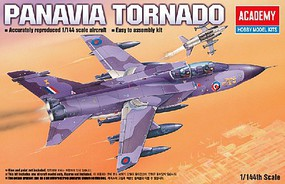 Academy Panavia 200 Tornado Fighter Plastic Model Airplane Kit 1/144 Scale #12607