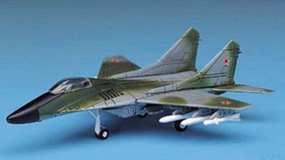 Academy MiG29 Fulcrum Fighter Plastic Model Airplane Kit 1/144 Scale #12615