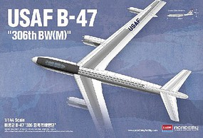 Academy B-47 US Air Force Plastic Model Airplane Kit 1/144 Scale #12618