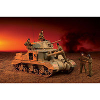 Academy M3 Grant El-Alamein 1942 Plastic Model Tank Kit 1/35 Scale #13228