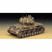 Academy Wirbelwind Quad 20mm Tank Plastic Model Military Vehicle Kit 1/35 #13236