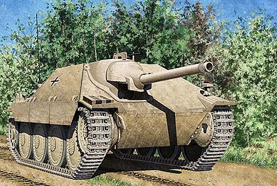 Academy Plastics Jagdpanzer 38(t) Hetzer Early Version -- Plastic Model Military Vehicle Kit -- 1/35 -- #13278