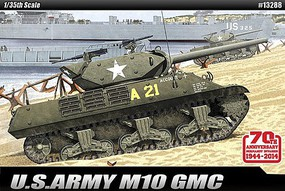 Academy M10 GMC 70th Anniv Normandy Invasion Plastic Model Military Vehicle Kit 1/35 Scale #13288