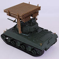 Academy M4A3 Sherman Calliope Plastic Model Military Vehicle Kit 1/35 Scale #13294