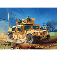 Academy M1151 Enhanced Armament Carrier Plastic Model Military Vehicle Kit 1/35 Scale #13415