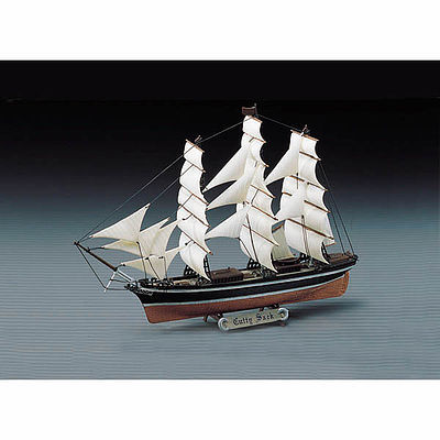 Academy Plastics Cutty Sark -- Plastic Model Sailing Ship -- 1/350 Scale -- #1406