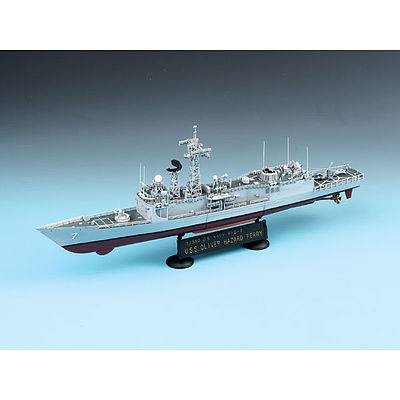 Academy USS Oliver Hazard Perry FGG-7 Plastic Model Frigate Kit 1/350 Scale #14102