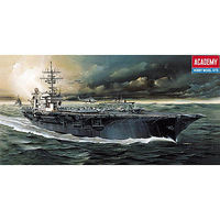 Academy USS Kitty Hawk Plastic Model Aircraft Carrier Kit 1/800 Scale #14210