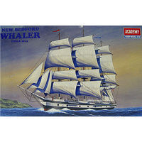 Academy Bedford Whaler Plastic Model Sailing Ship Kit 1/200 Scale #1441