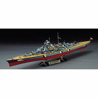 Academy Bismarck Battleship (Static) Plastic Model Battleship Kit 1/350 Scale #1453