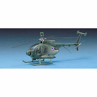 Academy Hughes 500D Tow Heli Plastic Model Helicopter Kit 1/48 Scale #1644
