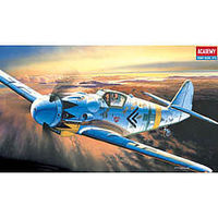 Academy Messerschmitt Bf 109G Plastic Model Airplane Kit 1/72 Scale #1653