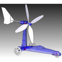 Academy Wind Powered Car Educational Kit