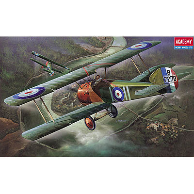 Academy Plastics Sopwith Camel F.1 -- Plastic Model Airplane Kit -- 1/32 Scale -- #2189