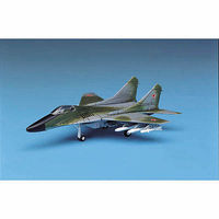 Academy Mig29 Fulcrum Fighter Plastic Model Airplane Kit 1/144 Scale #4441