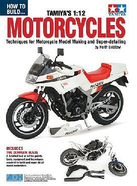 ADH Publishing How to Build Tamiya's 1/12 Motorcycles Book -- How To Model Book -- #12