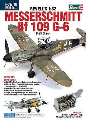 ADH Publishing How to Build Revell's 1/32 Messerschmitt Bf109G6 Book -- How To Model Book -- #32
