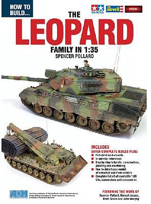ADH Publishing How to Build the Leopard Family in 1/35 Book -- How To Model Book -- #35