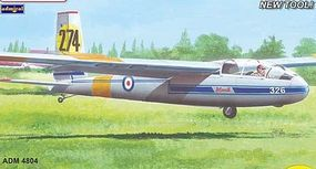 Admiral LET L13 Blanik Military Service Glider Aircraft Plastic Model Airplane Kit 1/48 Scale #4804